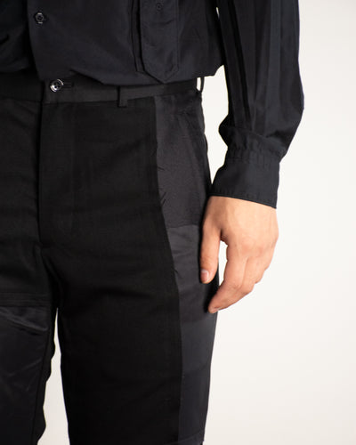 CDG BLACK Patchwork Trouser