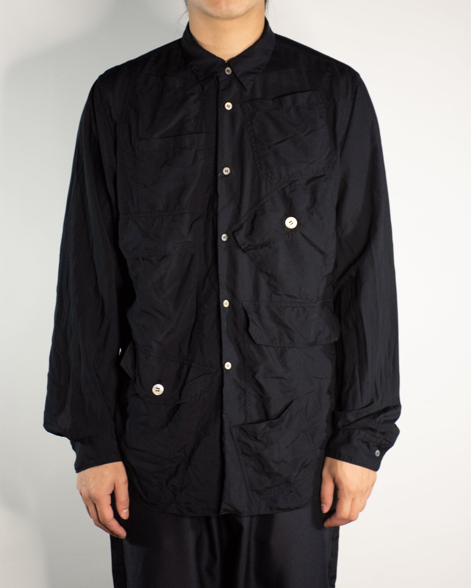 CDG BLACK Multi Pocket Shirt