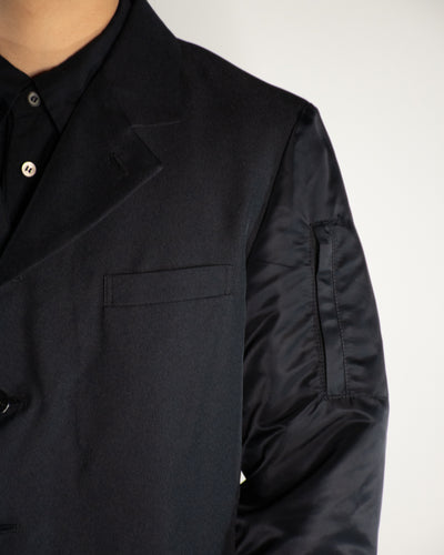 CDG BLACK Bomber Sleeve Jacket