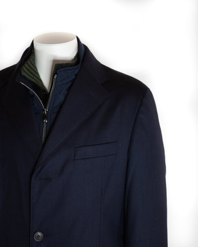 CORNELIANI TAILORED OVERCOAT