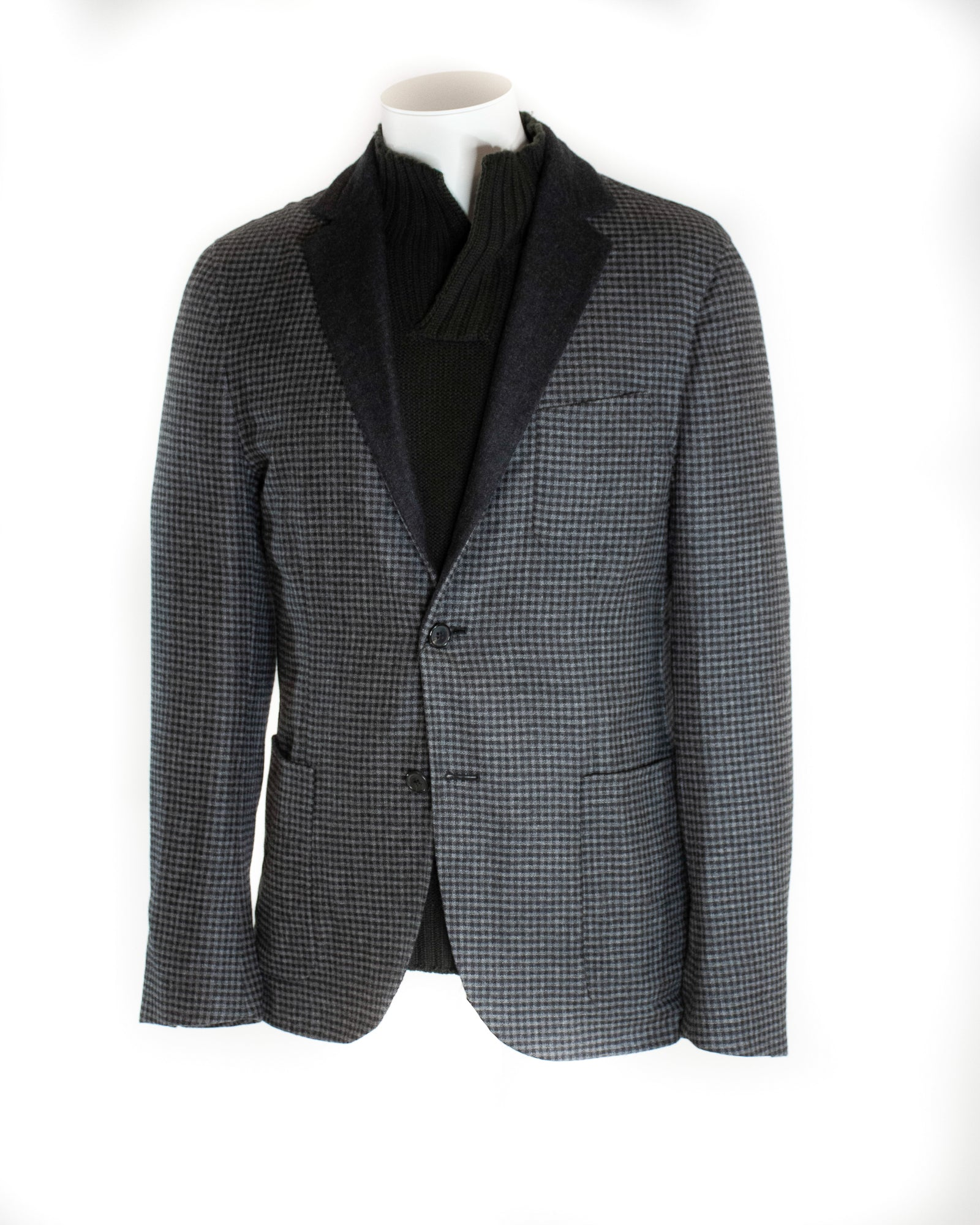 CORNELIANI UNLINED CARDIGAN JACKET