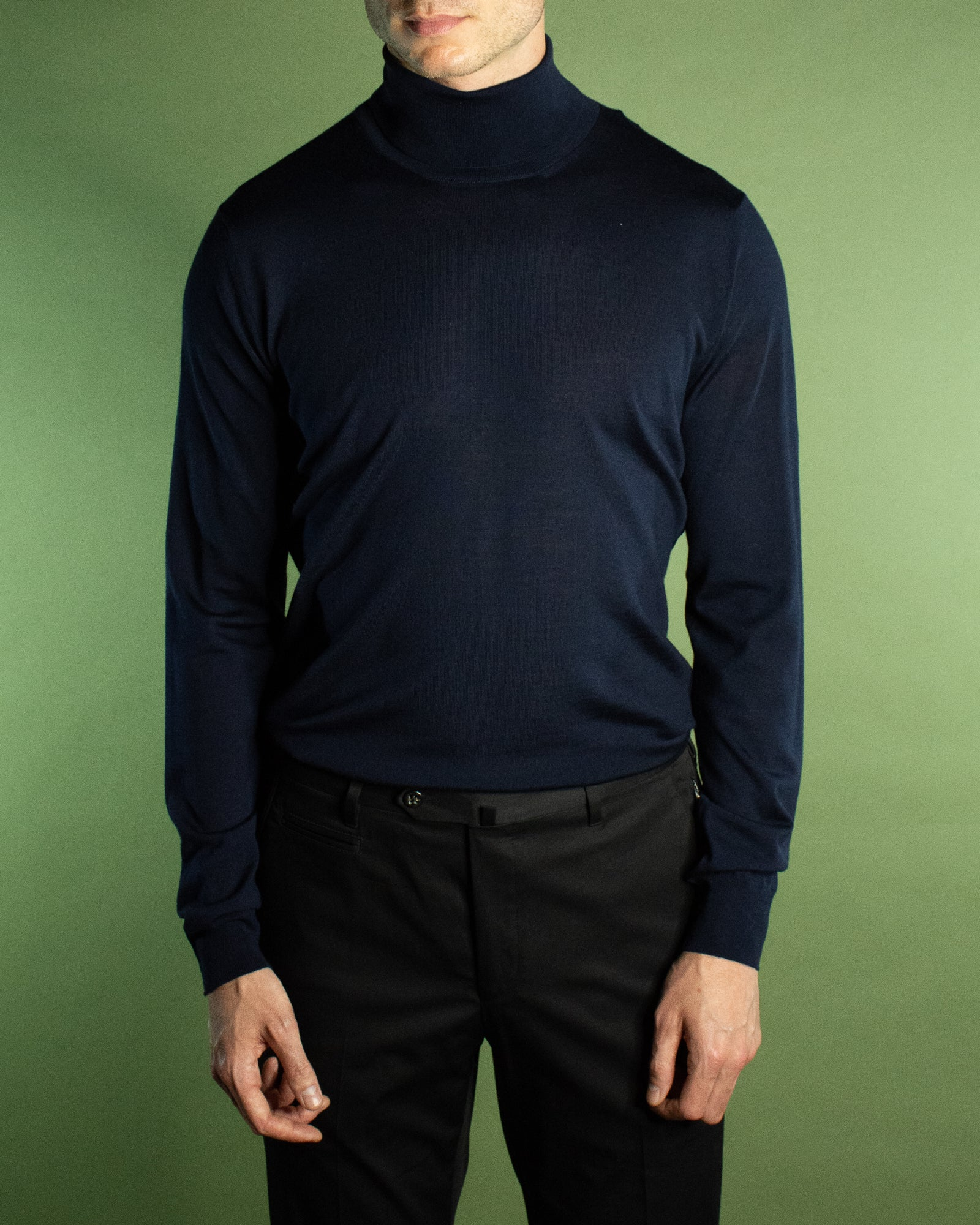 CORNELIANI KNITTED TURTLE NECK