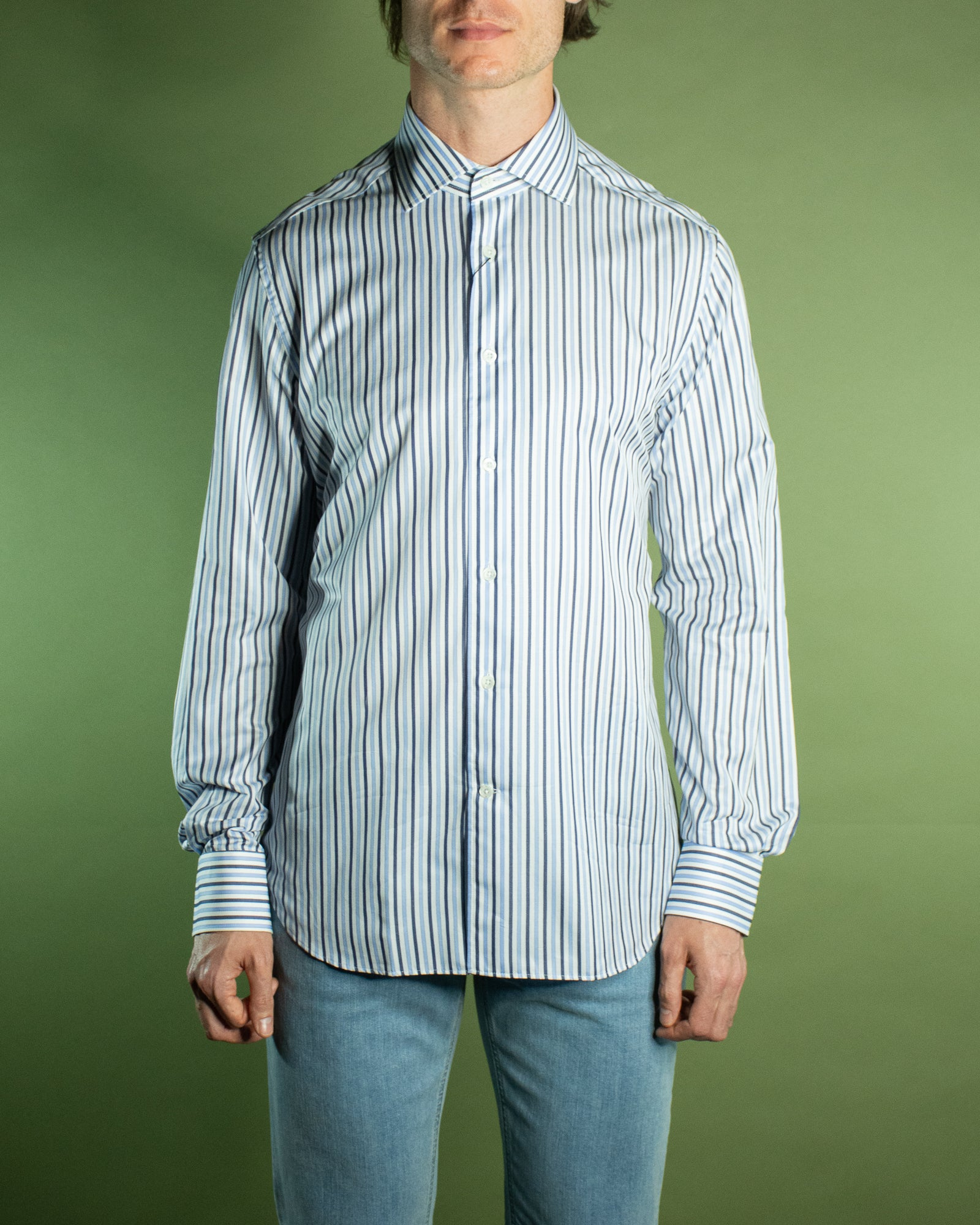 CORNELIANI STRIPE BUSINESS SHIRT