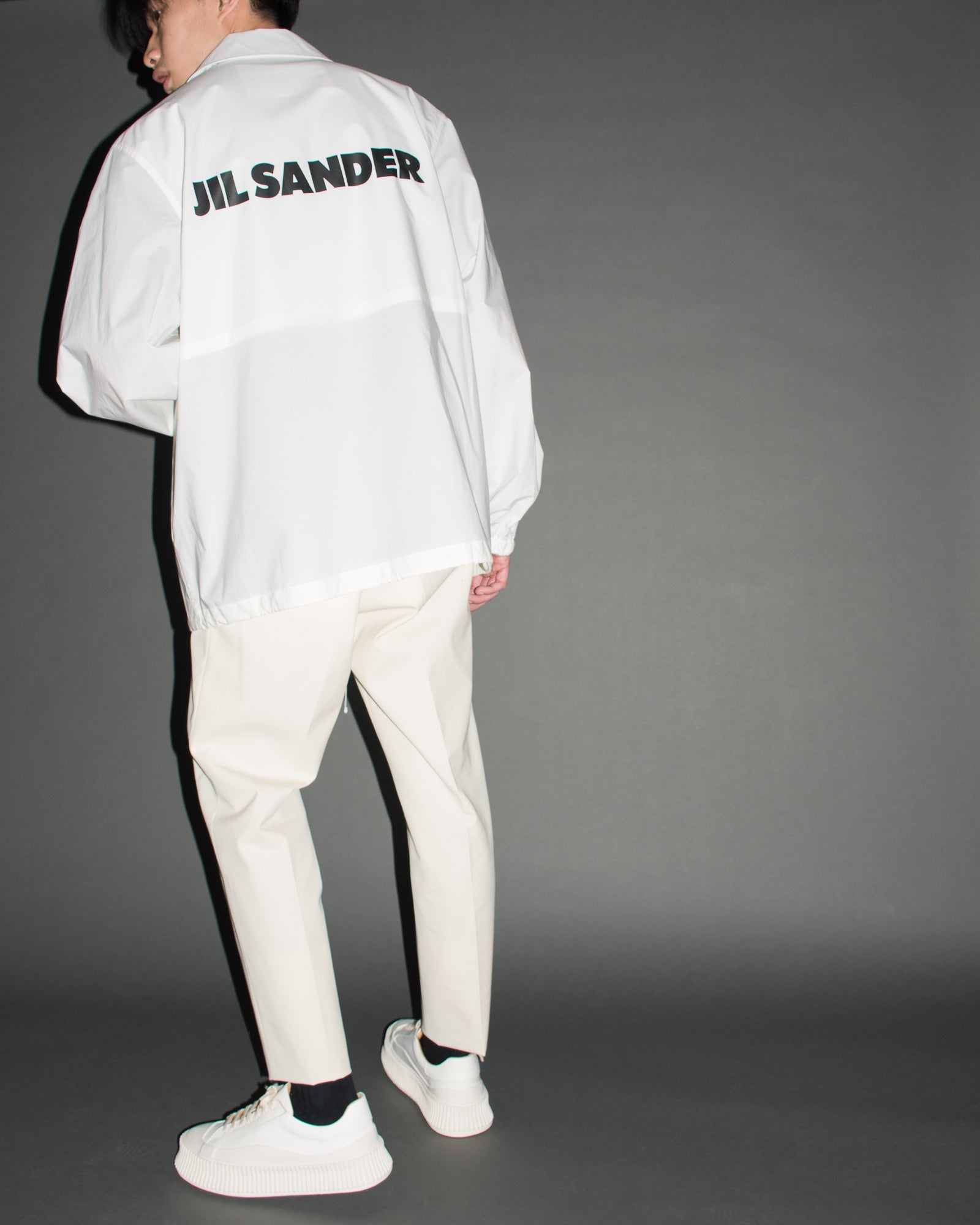 JIL SANDER Essential Windbreaker
