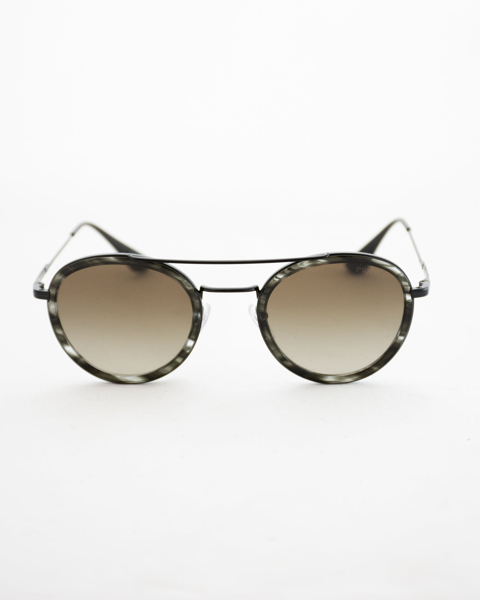 PRADA Stripped Sunglasses