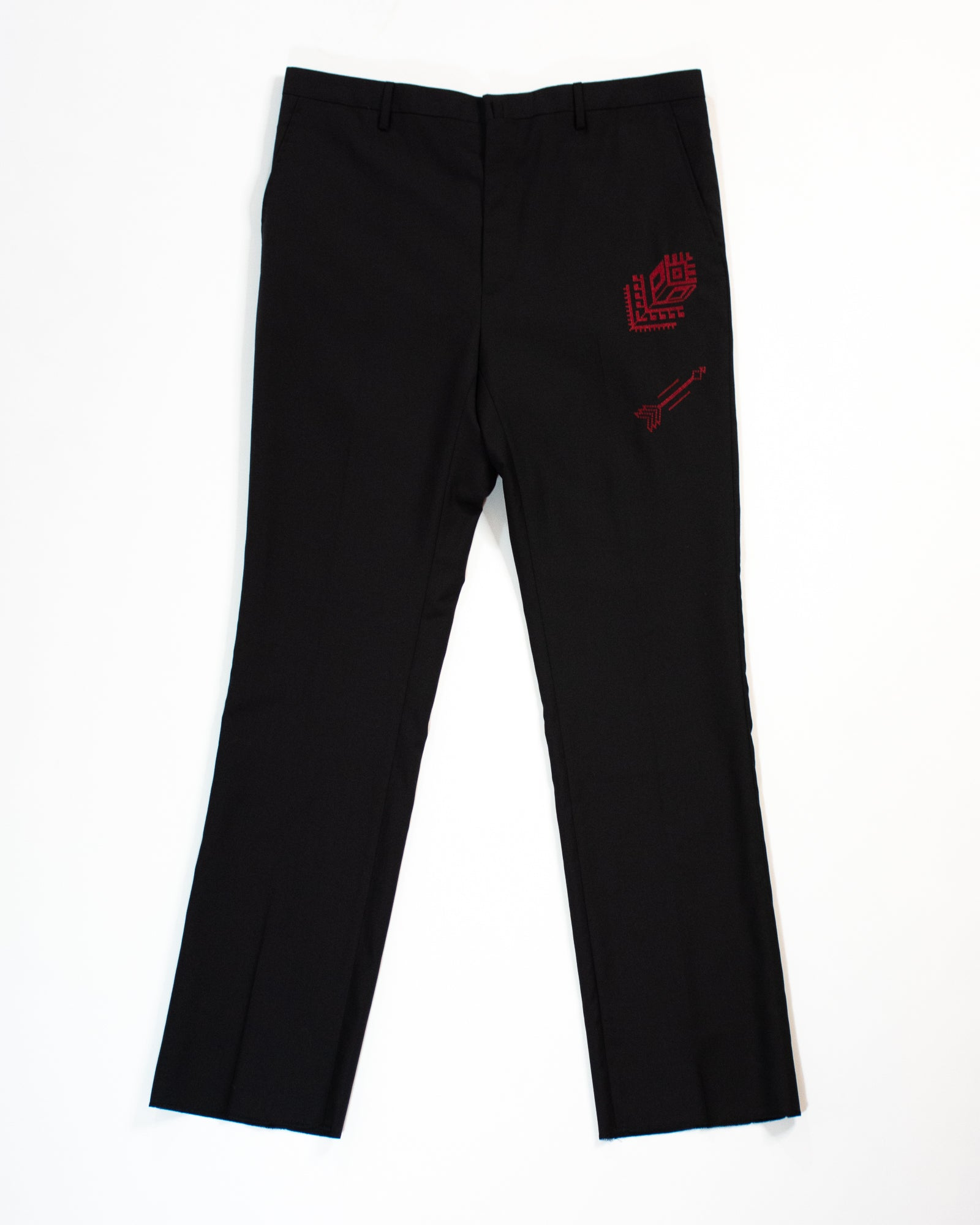 LANVIN Rose Arrow Trouser