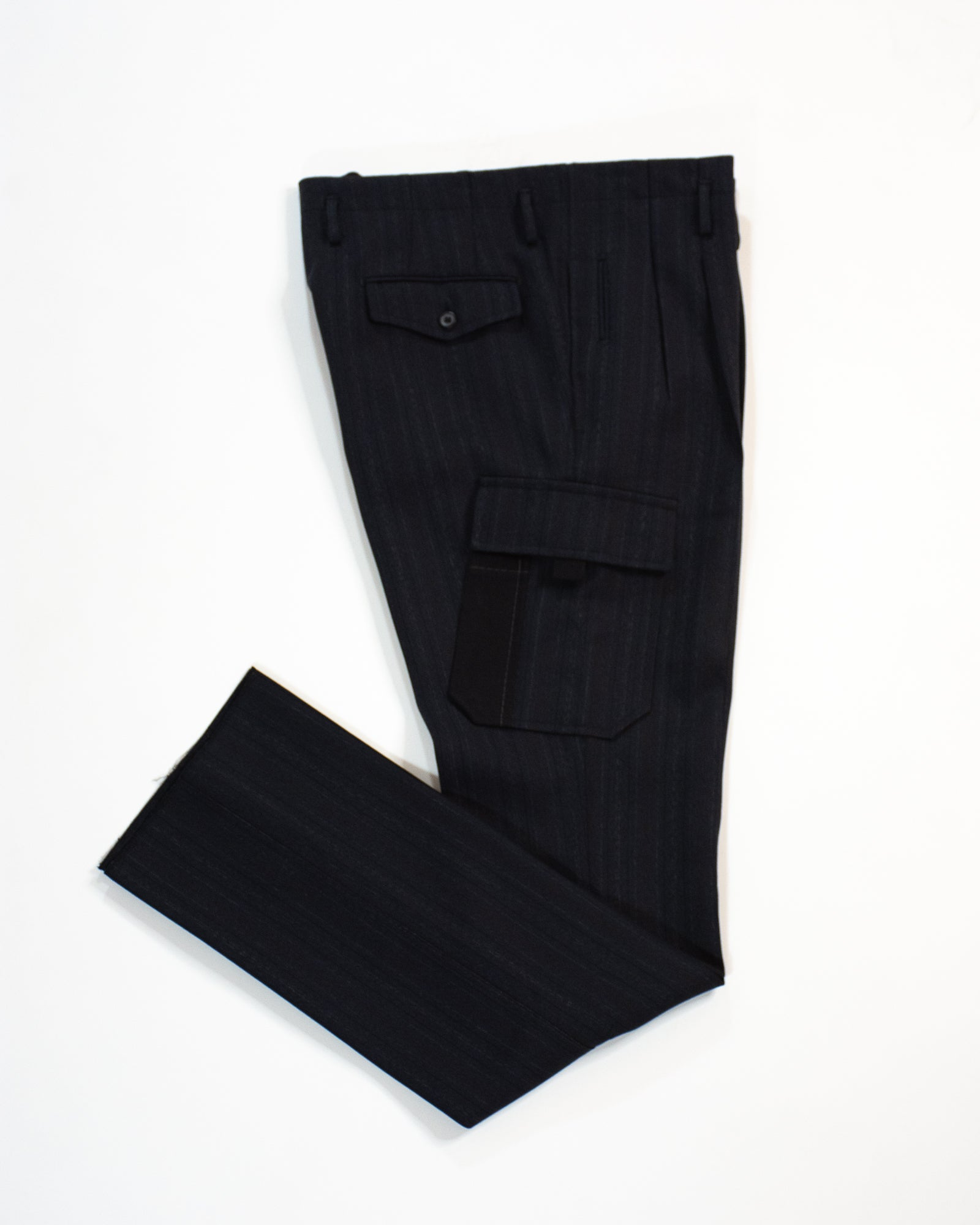 LANVIN Pleated Cargo Trouser