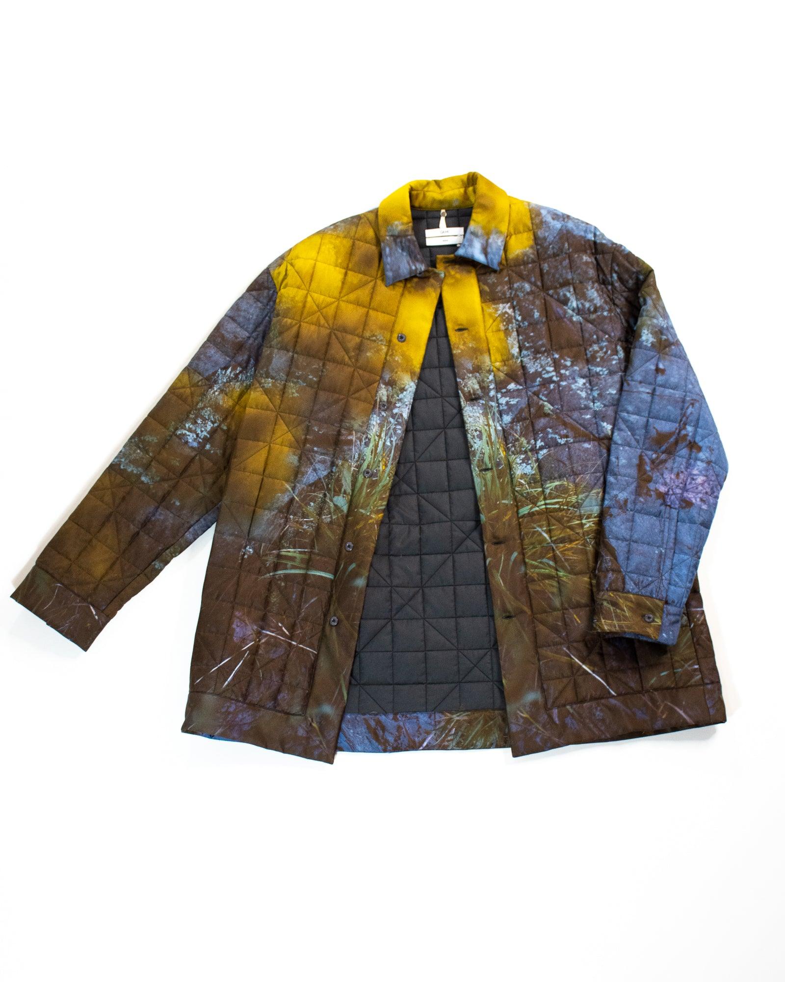 OAMC Quilted Print Jacket