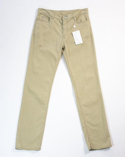 MAISON MARGIELA Waxed Chino Trouser