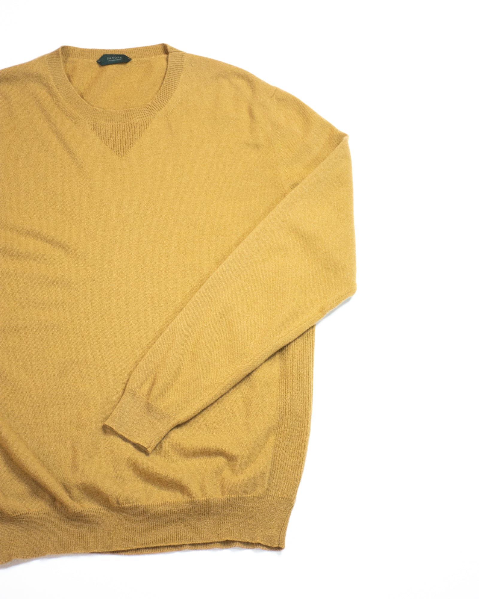 SLOWEAR Crew Neck Knit Sweatshirt