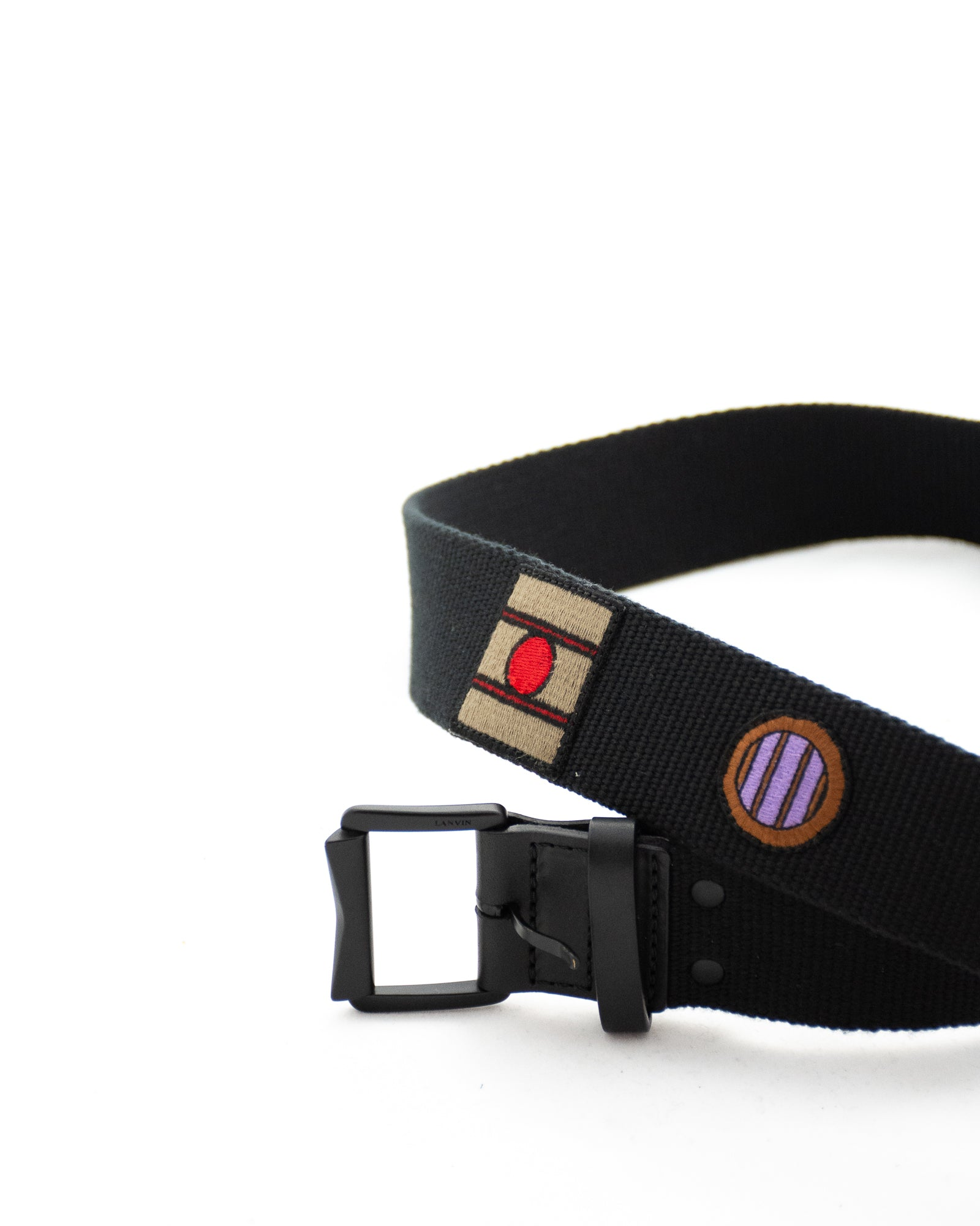 LANVIN Canvas Belt