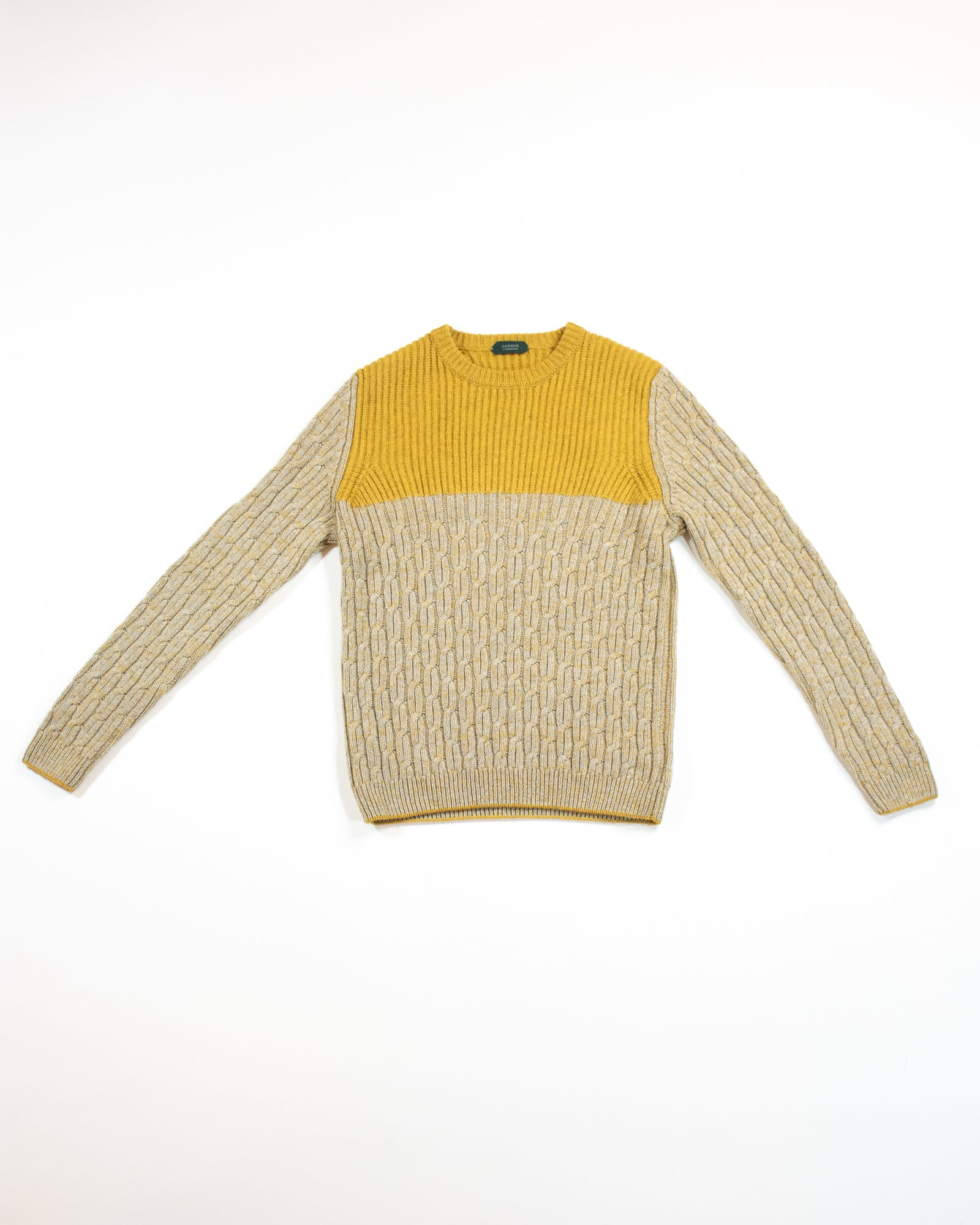 SLOWEAR Cable Knit Sweater