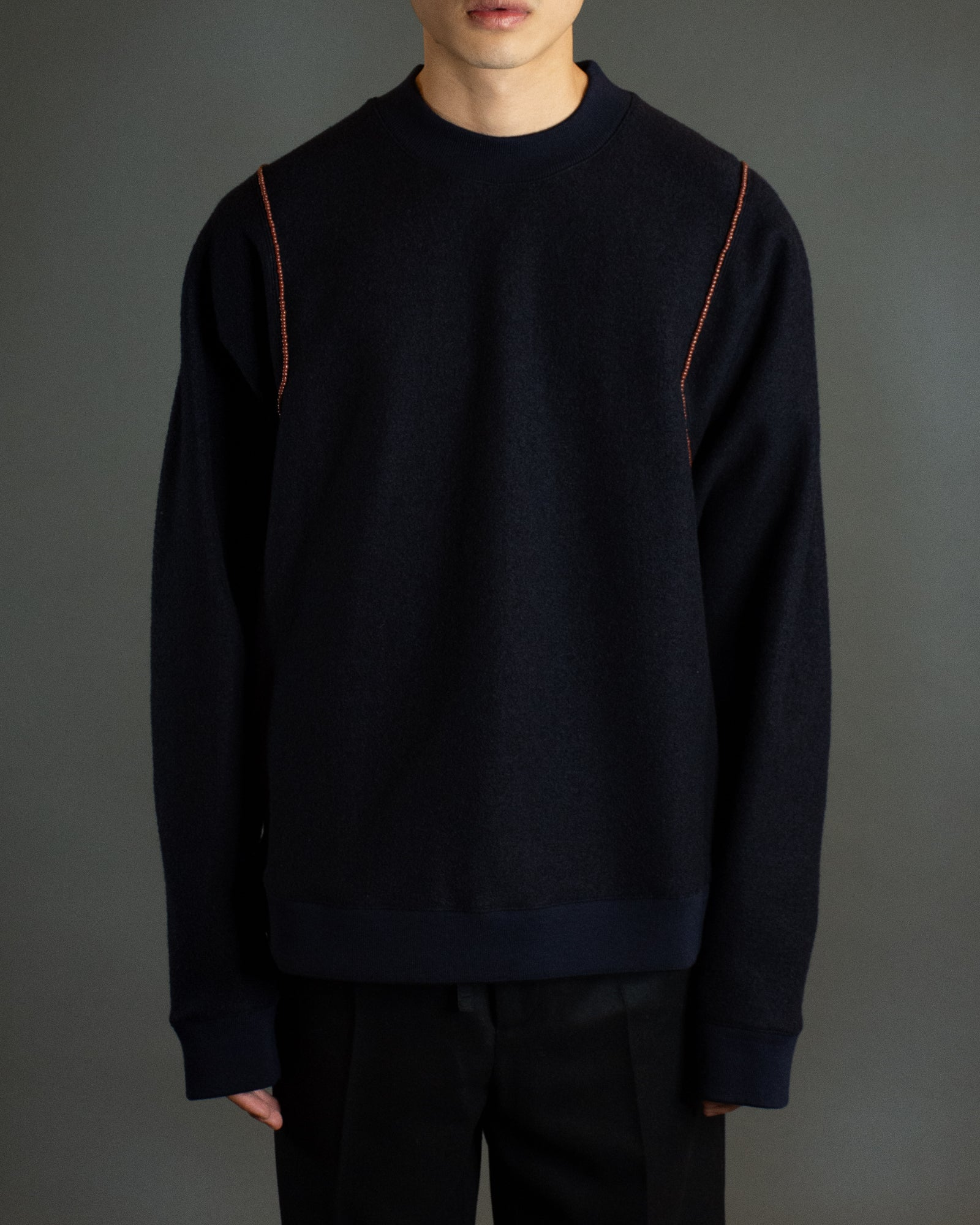 JIL SANDER BEADED SWEATER