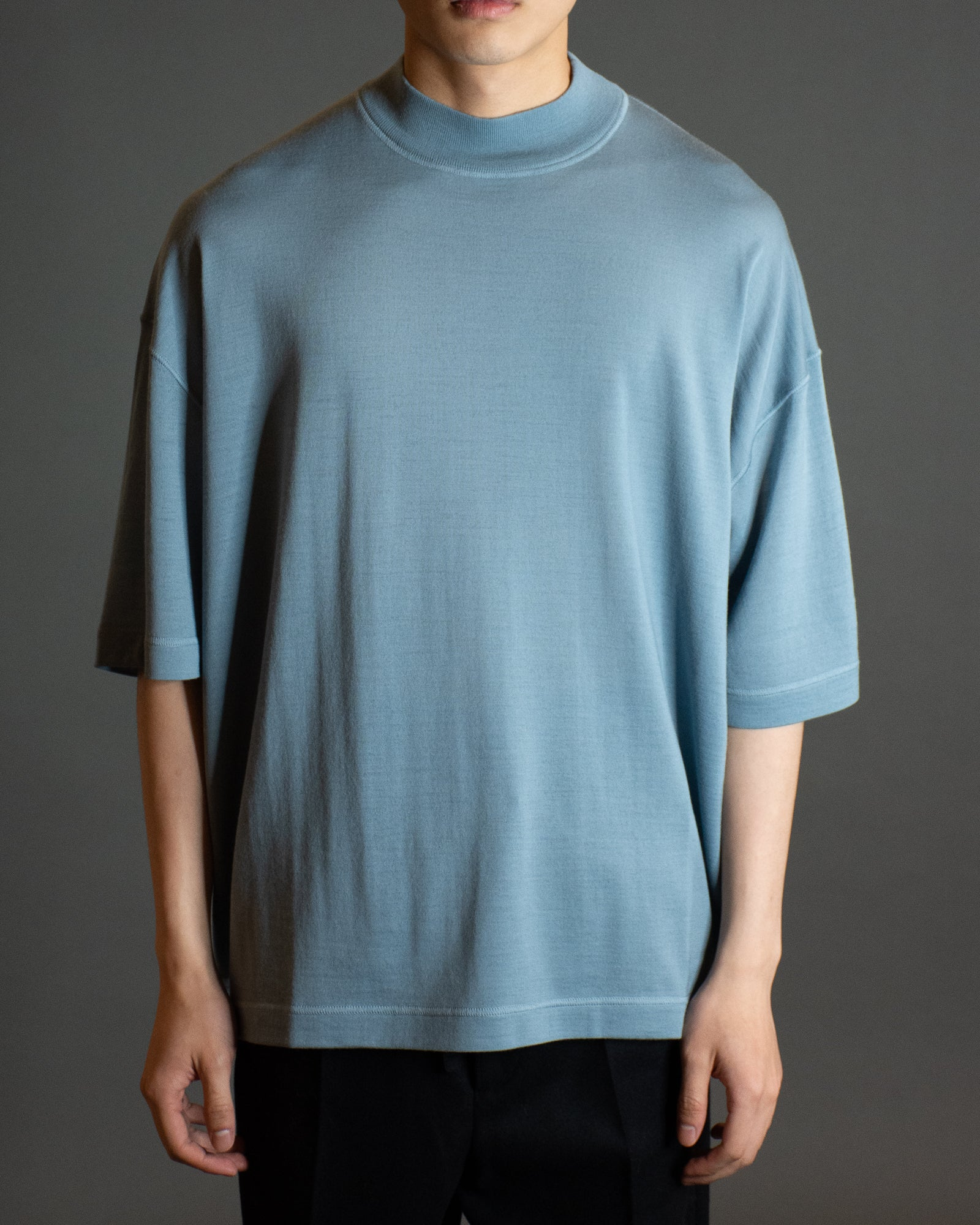 JIL SANDER MOCK NECK KNIT