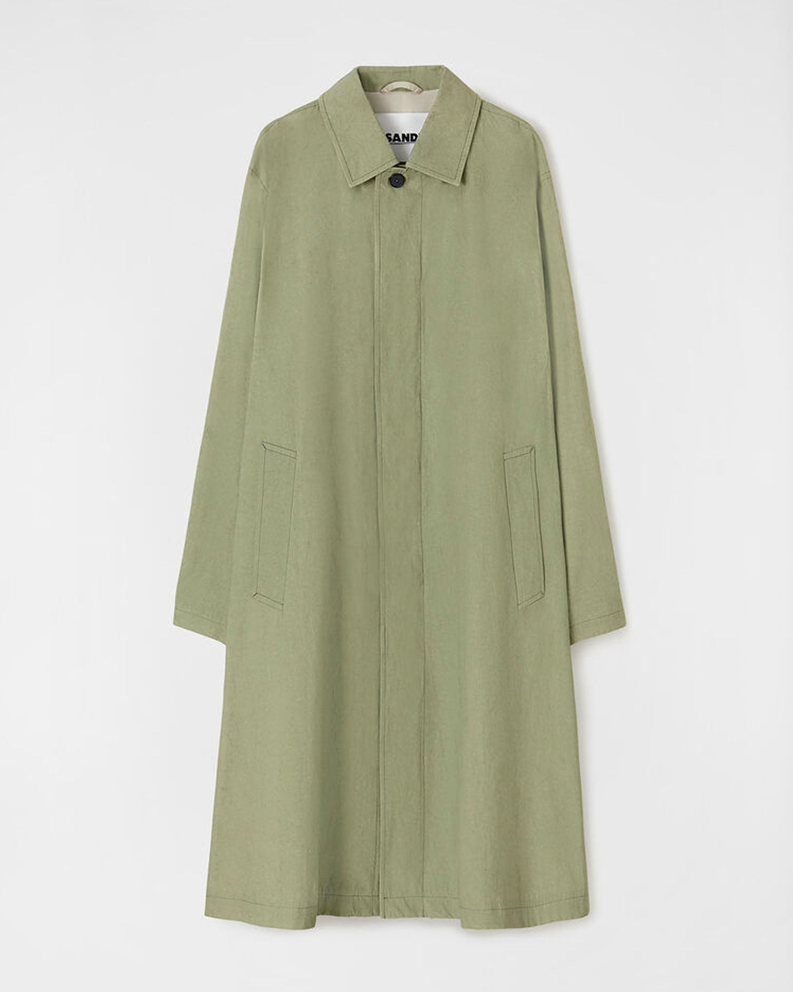 JIL SANDER OVERDYED TRENCH