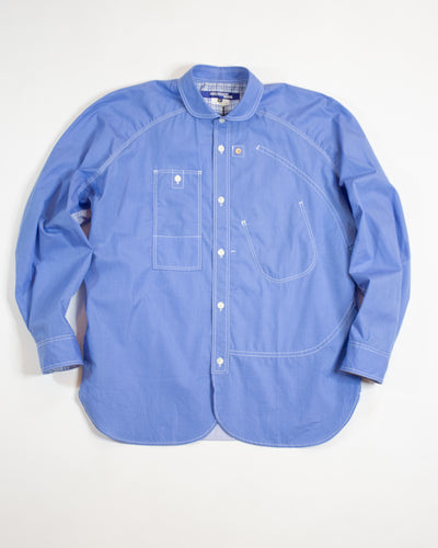 JUNYA WATANABE Chambray and Stripe Mix Shirt