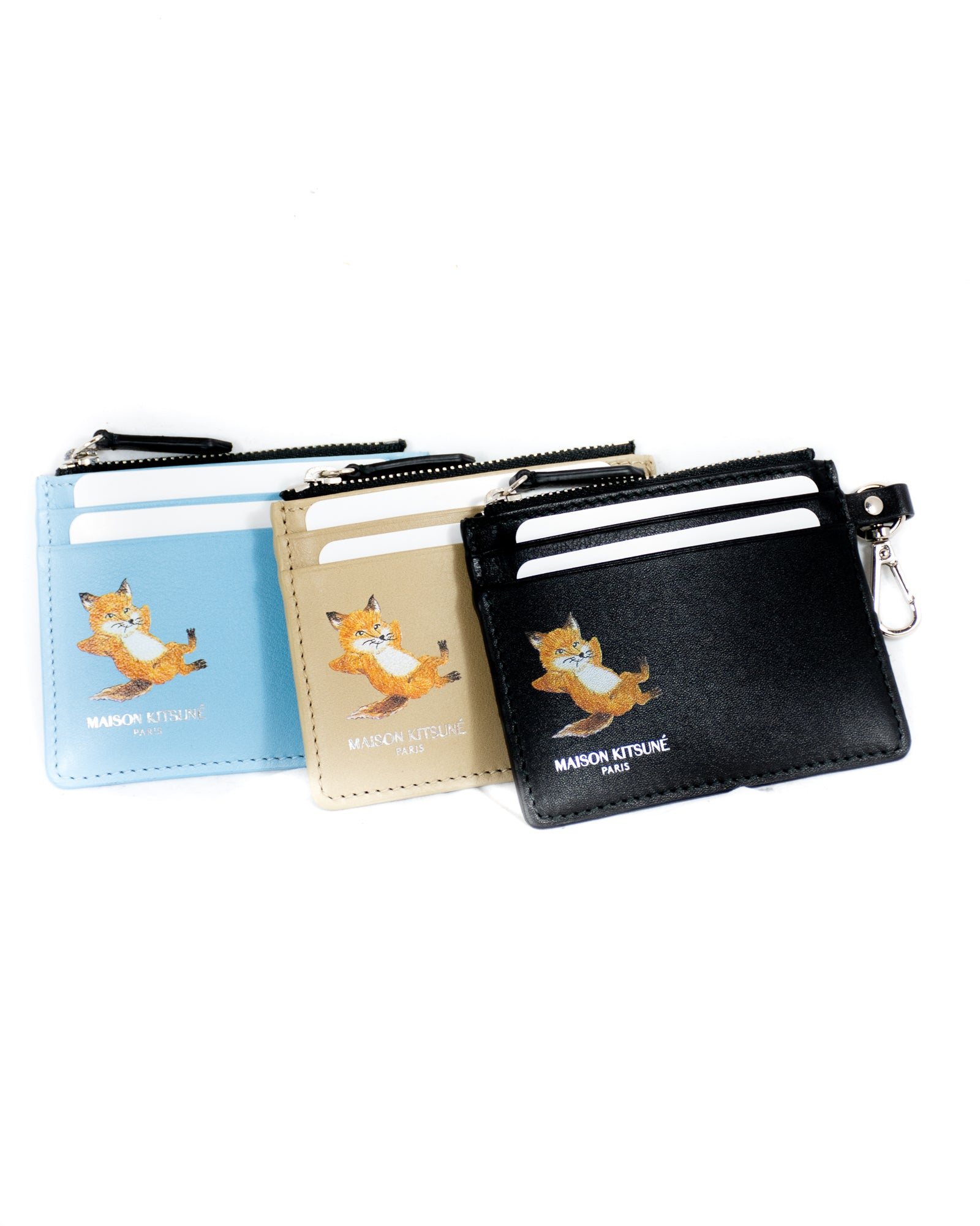 MAISON KITSUNÉ CHILLAX FOX CARD HOLD