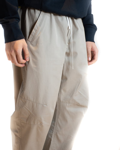 MAISON KITSUNÉ ELASTICATED COTTON TECH TROUSER