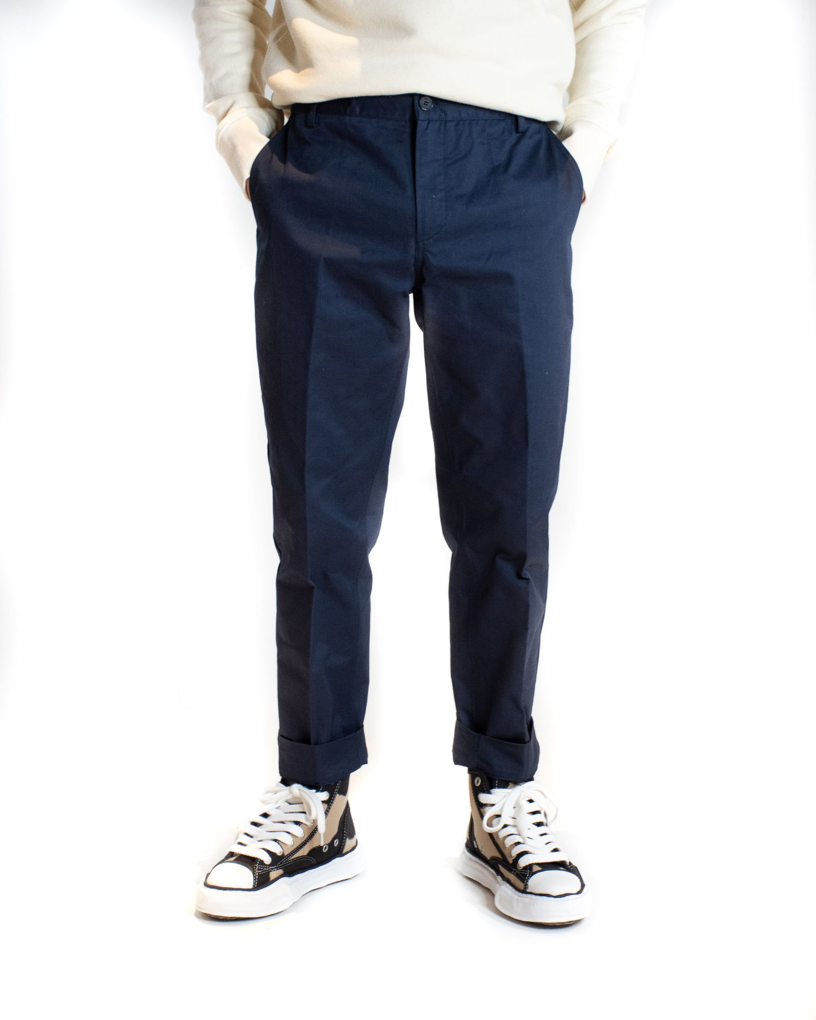 MAISON KITSUNÉ CARROT FIT TROUSER