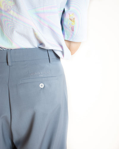 MAISON KITSUNÉ SINGLE PLEAT TROUSER