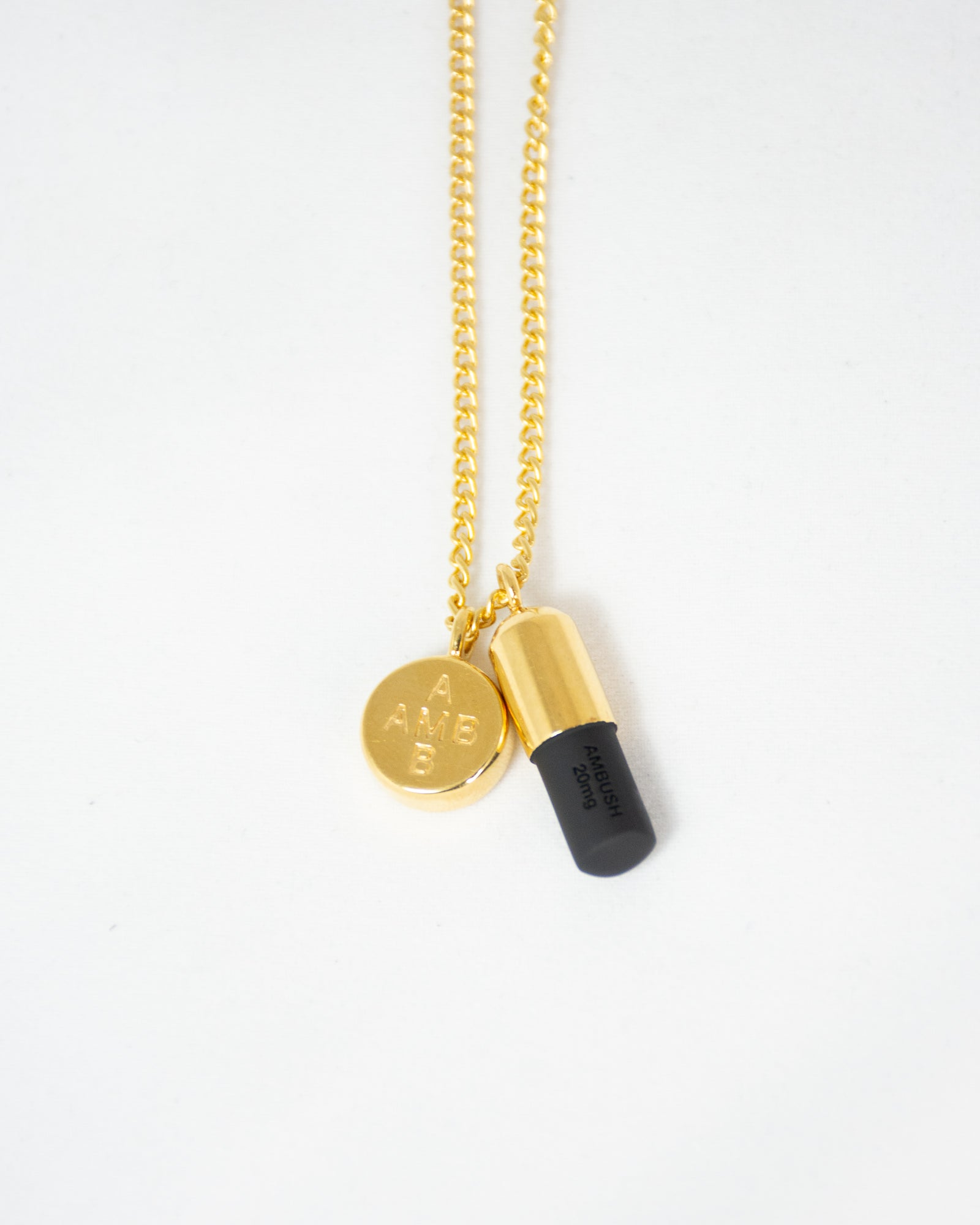 AMBUSH KK PILL NECKLACE