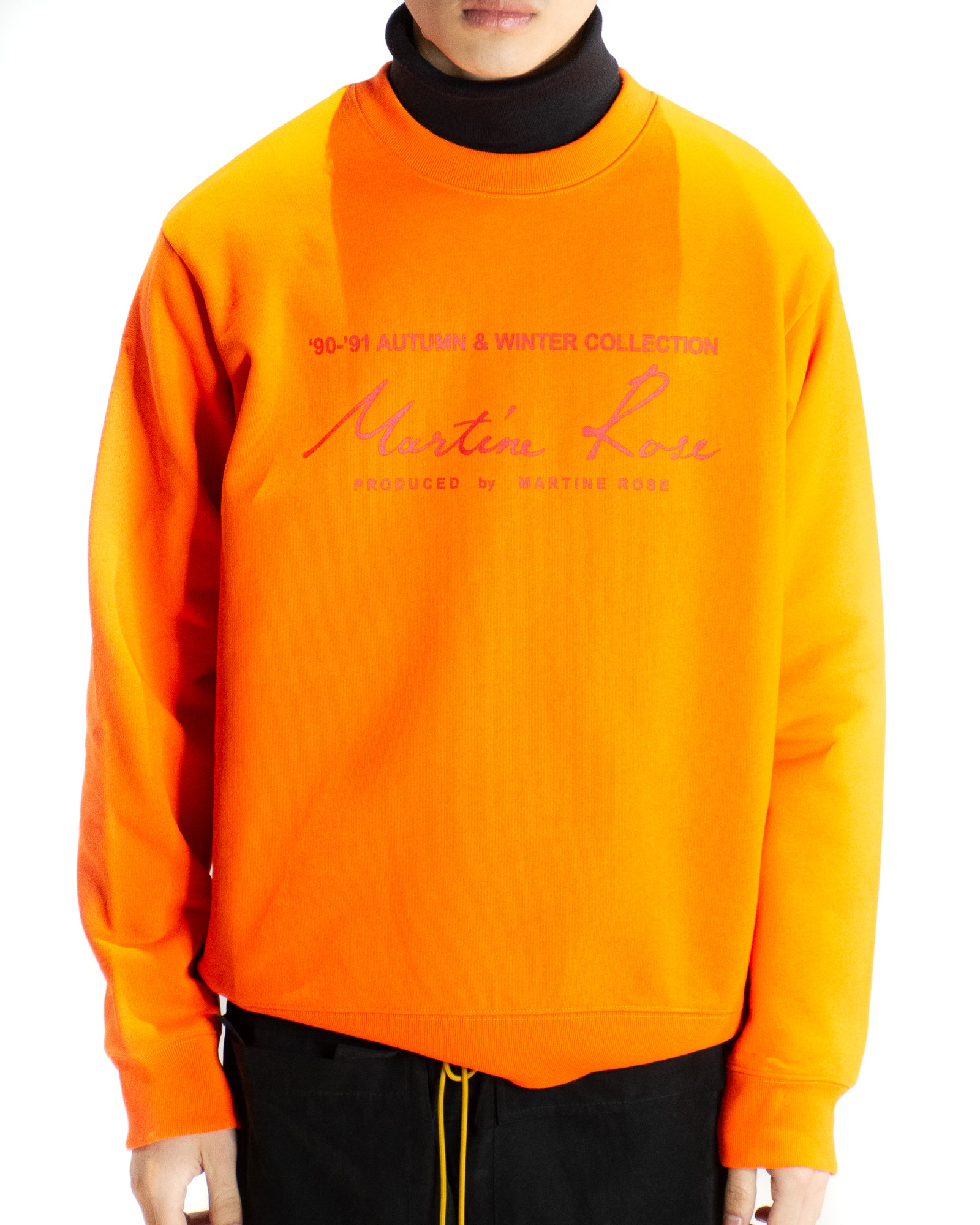 MARTINE ROSE CLASSIC LOGO SWEATER