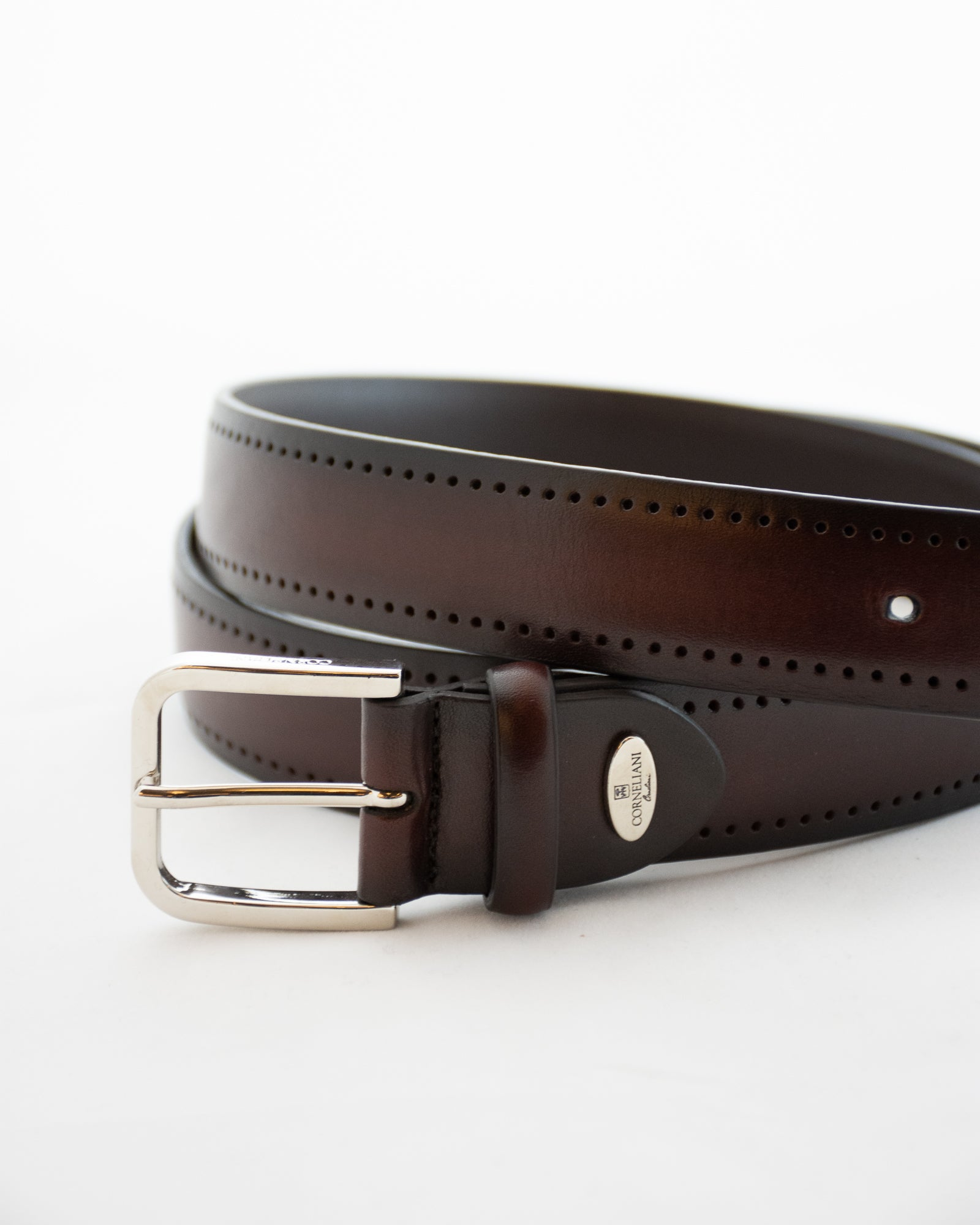 CORNELIANI Burgundy Belt