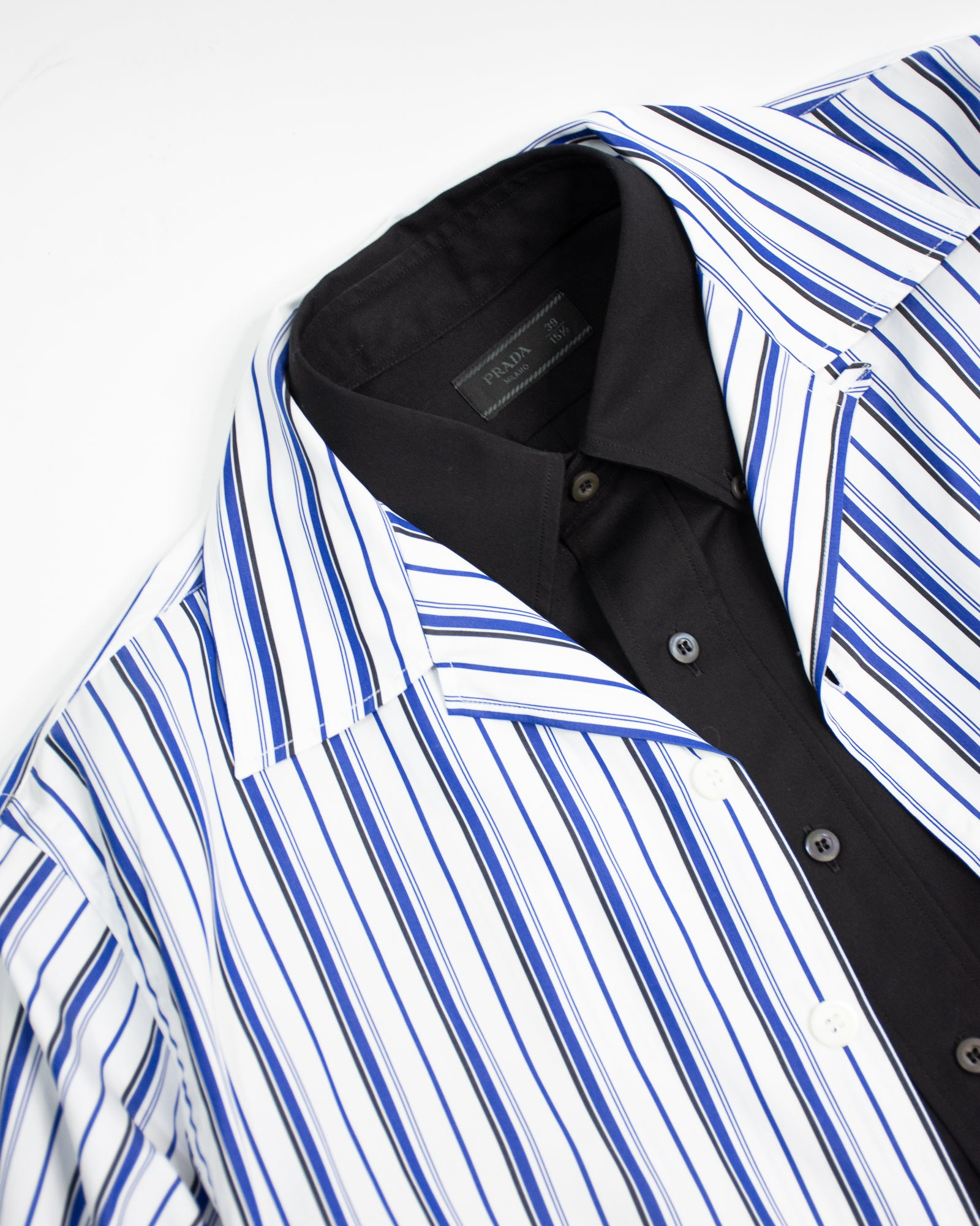 PRADA Striped Bowling Shirt
