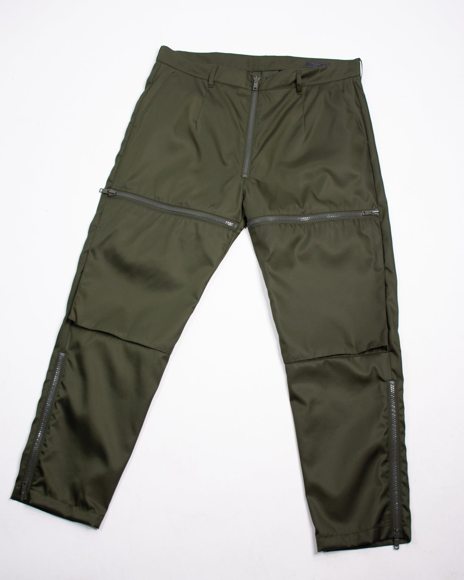 PRADA Zip Tech Trouser