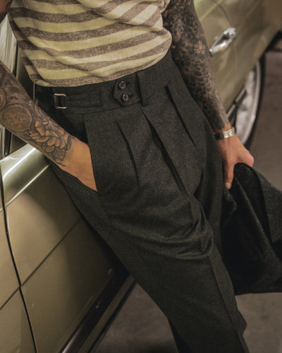NAMIMAN Carico Flannel Trouser