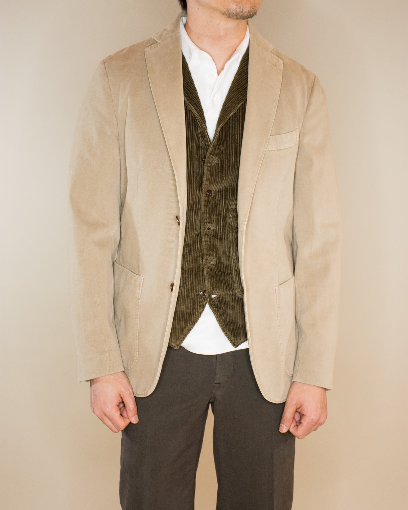 SLOWEAR Brushed Twill Sports Jacket
