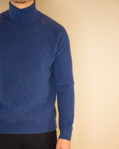 SLOWEAR Cashmere Mock Neck Sweater