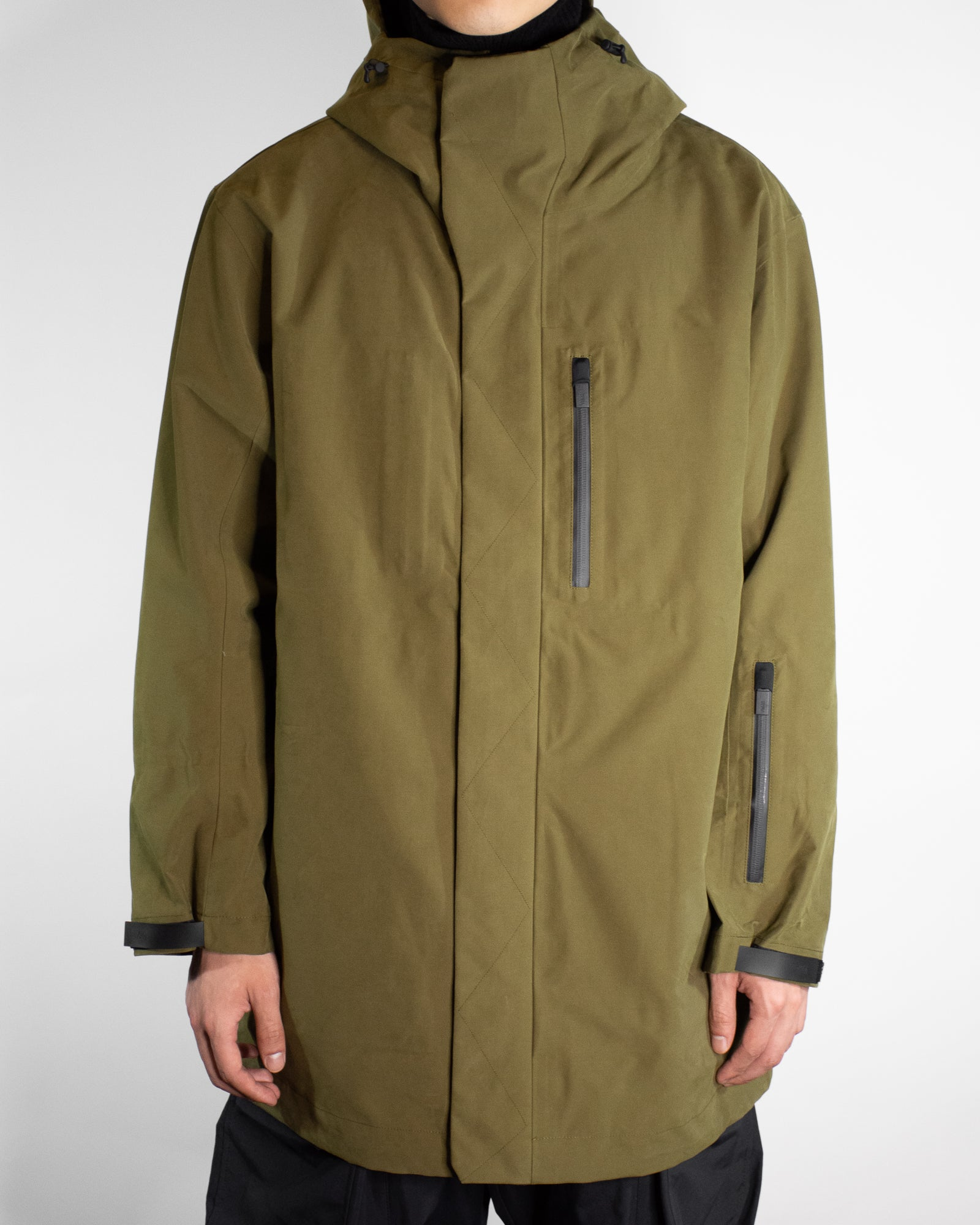 TEMPLA TEMP 3/4 SHELL JACKET