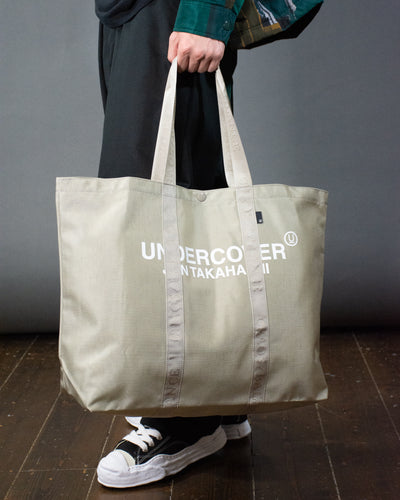 UNDERCOVER MEDIUM LOGO TOTE BAG