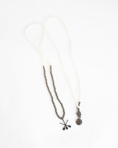 UNDERCOVER BEAD & CHARM NECKLACE