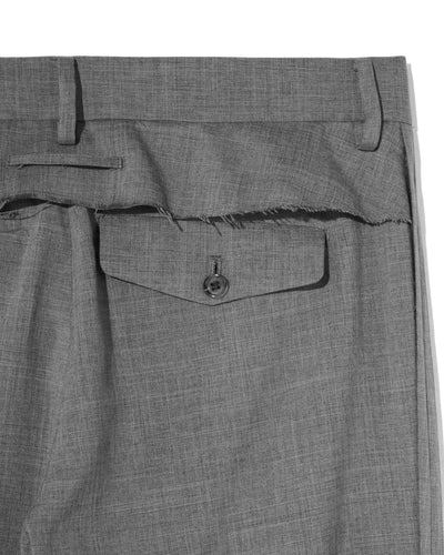 UNDERCOVER FRAYED TROUSER