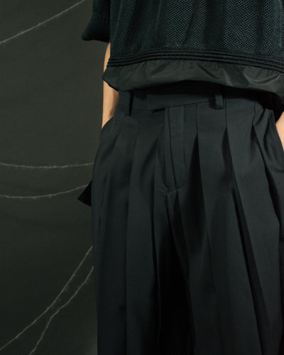 UNDERCOVER Box Pleat Trousers