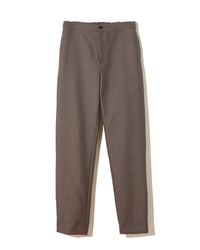 UNDERCOVER CHECK SIDE TAB TROUSER