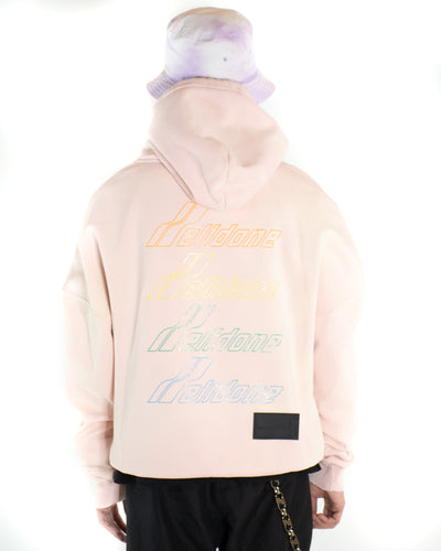 WE11DONE Iridescent Hoodie