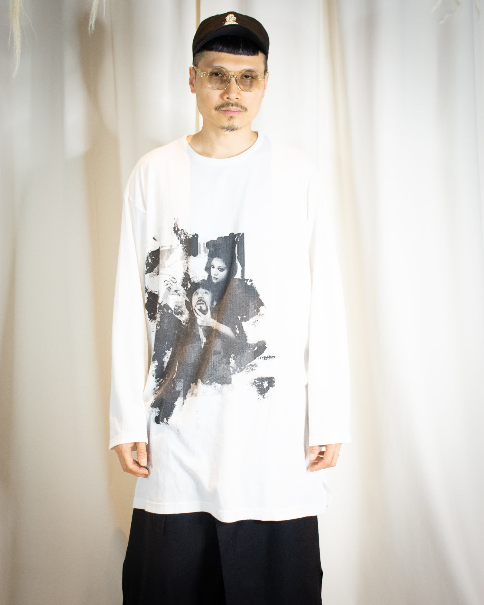 YOHJI THIS MAN LONG SLEEVE TEE