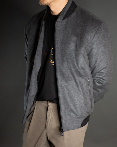ZILLI Mink Lined Bomber