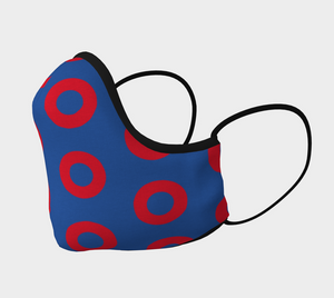 Fishman Donut Mask - Kids & Adult sizes