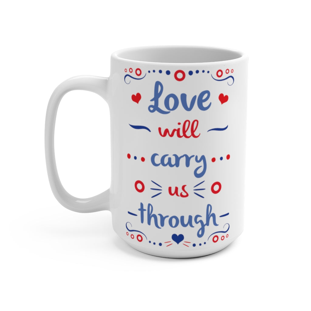 Drift While You're Sleeping Mug 15oz, Love will Carry us Through Coffee Mug, Phish Coffee Mug, Phish Mug, Phish Lyrics