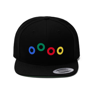 Send in the Clones Phish Donuts Unisex Flat Bill Hat