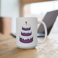 Load image into Gallery viewer, Backwards Down the Number Line Mug 15oz, Phish Coffee Mug, Phish Mug, Birthday Mug, Phish Lyrics, BDTNL Mug