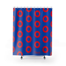 Load image into Gallery viewer, Phishman Donut Shower Curtain