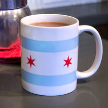 Load image into Gallery viewer, Chicago Flag Coffee Mug