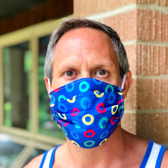 Phish Send in the Clones Face Mask