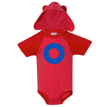 Load image into Gallery viewer, Fishman Donut Hooded Baby Onesie