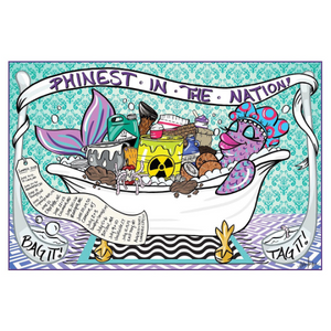 Reba Phish Summer 2019 Tour Poster Print Bag It Tag IT